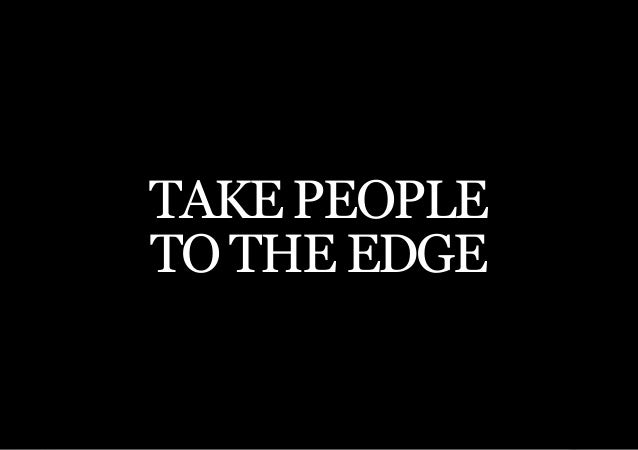 THE SECOND LITTLE BOOK OF LEADERSHIPTAKE PEOPLETO THE EDGE     35