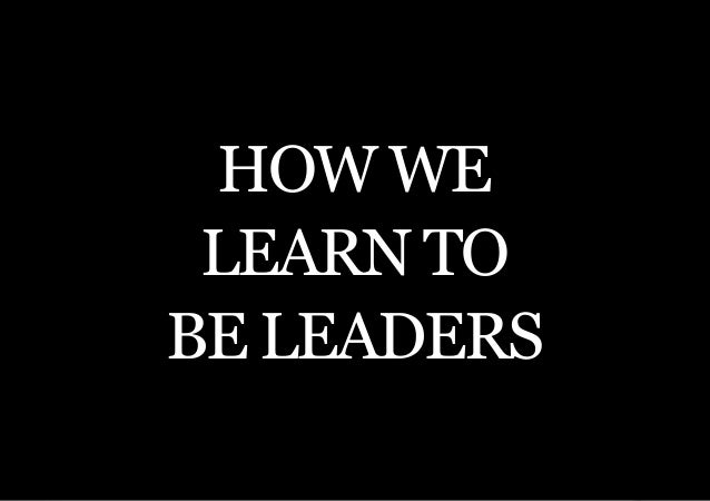 THE SECOND LITTLE BOOK OF LEADERSHIP How we learn tobe leaders    5