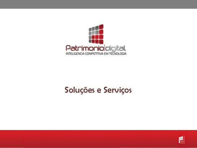 Soluções e Serviços