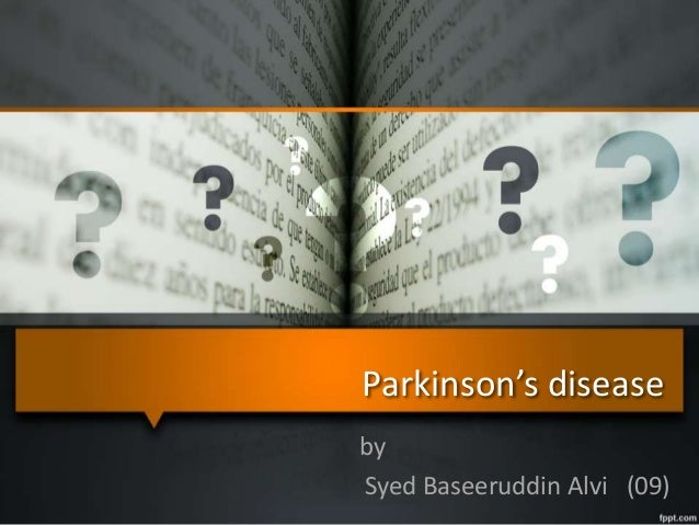 Parkinson's disease by Syed Baseeruddin Alvi (09)