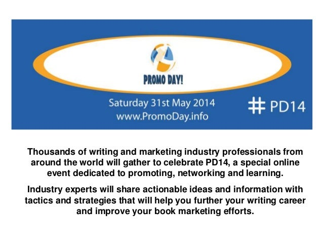 Thousands of writing and marketing industry professionals from around the world will gather to celebrate PD14, a special o...