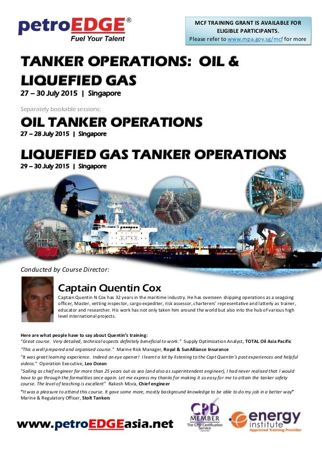 OIL & LIQUEFIED GAS: TANKER OPERATIONS