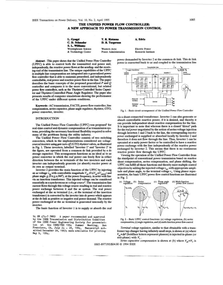 IEEE Transactions on Power Delivery, Vol. 10, No. 2, April 1995                                                           ...