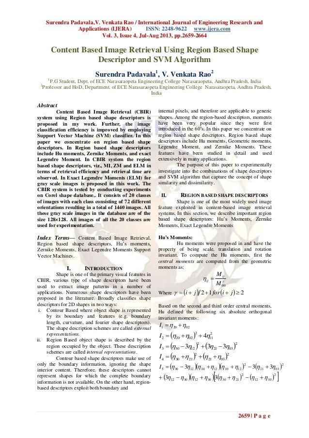 Surendra Padavala,V. Venkata Rao / International Journal of Engineering Research and Applications (IJERA) ISSN: 2248-9622 ...
