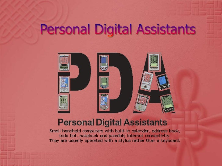 PDA(Personal Digital Assistant)