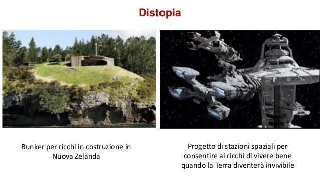 Distopia Bunker per ricchi in costruzione in Nuova Zelanda Progetto di stazioni spaziali per consentire ai ricchi di viver...