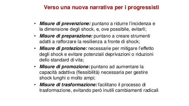 • Misure di prevenzione: puntano a ridurre l'incidenza e la dimensione degli shock, e, ove possibile, evitarli; • Misure d...