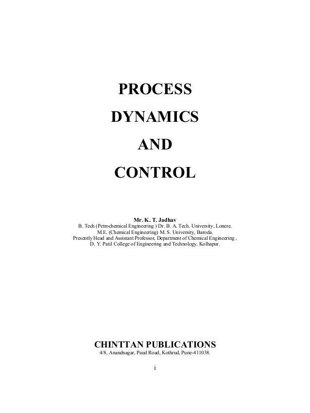 Seborg, edgar, mellichamp: process dynamics and control, 2nd.