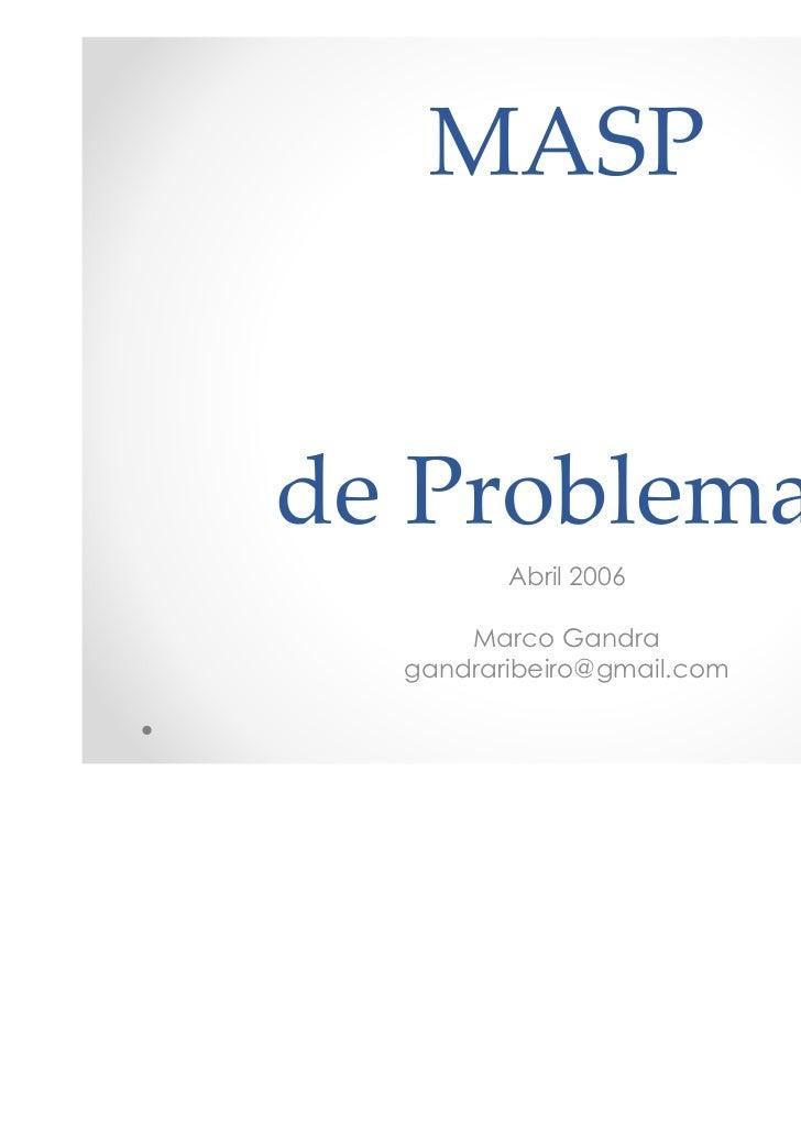 Abril 2006    Marco Gandragandraribeiro@gmail.com