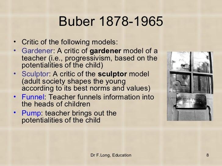 Buber's I and Thou (Summary)