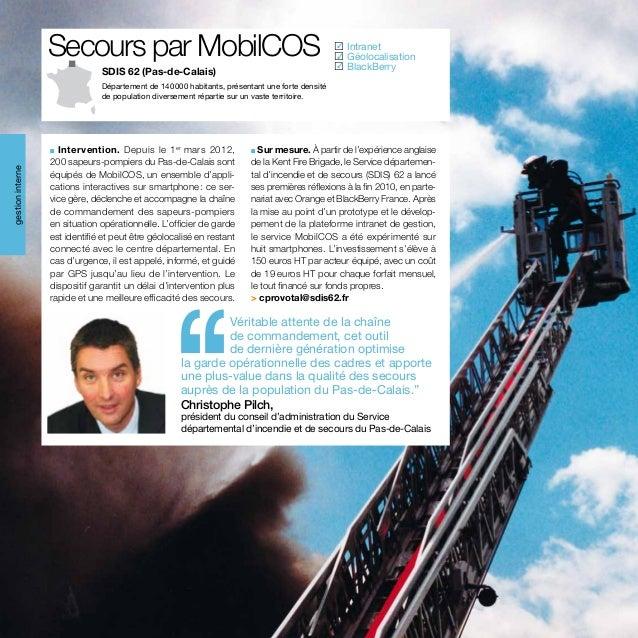 Secours par MobilCOS                                                             Intranet                                ...
