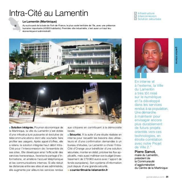 Intra-Cité au Lamentin                                                                                          Infrastru...