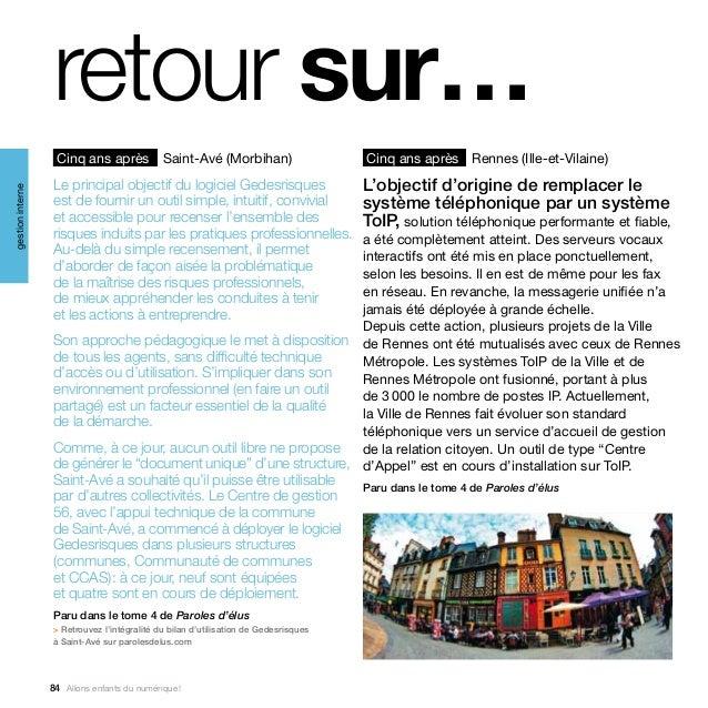 retour sur…                   Cinq ans après Saint-Avé (Morbihan)                               Cinq ans après Rennes (Ill...