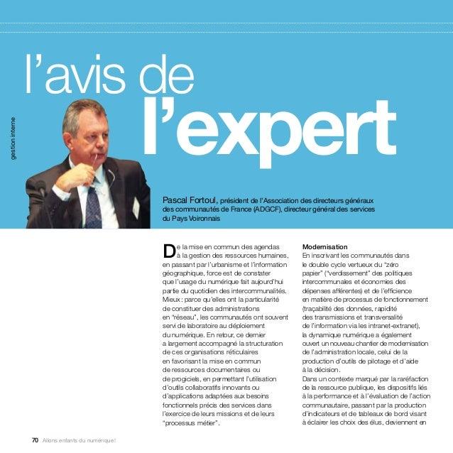 l'avis de                   l'expertgestion interne                                                     Pascal Fortoul,...