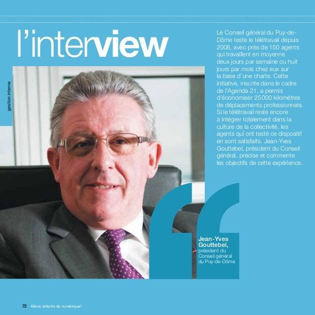 gestion interne                  l'interview                        ''      Le Conseil général du Puy-de-                 ...