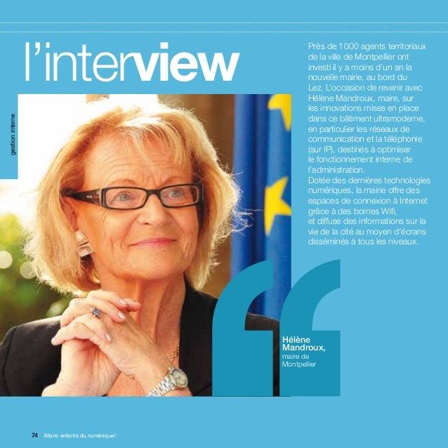 gestion interne                  l'interview                        ''       Près de 1000 agents territoriaux            ...