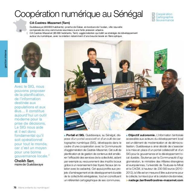 Coopération numérique au Sénégal                                                                                          ...
