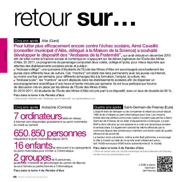 retour sur…             Cinq ans après Alès (Gard)            Pour lutter plus efficacement encore contre l'échec scolaire...