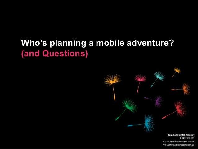 Mobile Marketing & Fundraising Inspiration