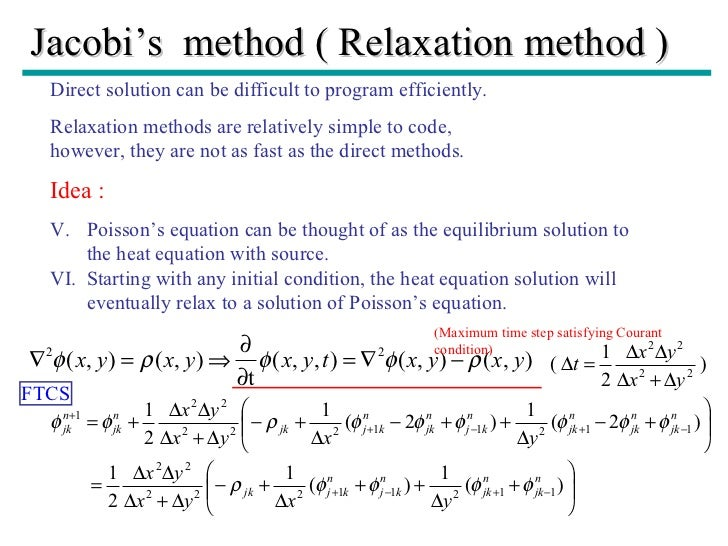Finite DIfference Methods Mathematica