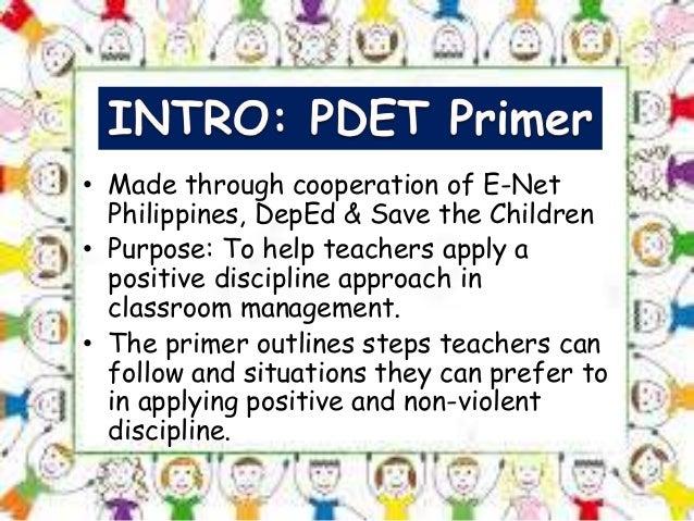 Positive Discipline in Everyday Teaching by chermae2016 Slide 2