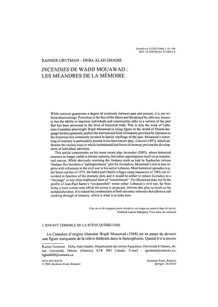Neohelicon X.VXIII (2006) I, 91-108                                                                               DOt: 10....