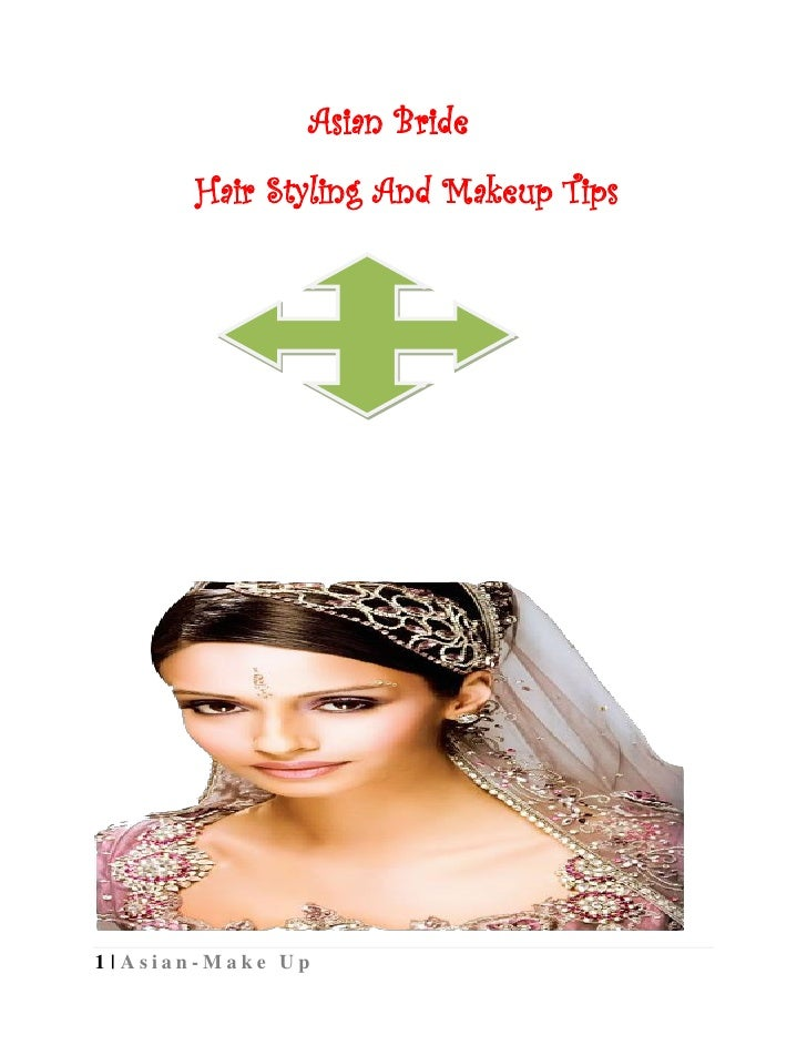 Asian Bride       Hair Styling And Makeup Tips1 | Asian-Make Up