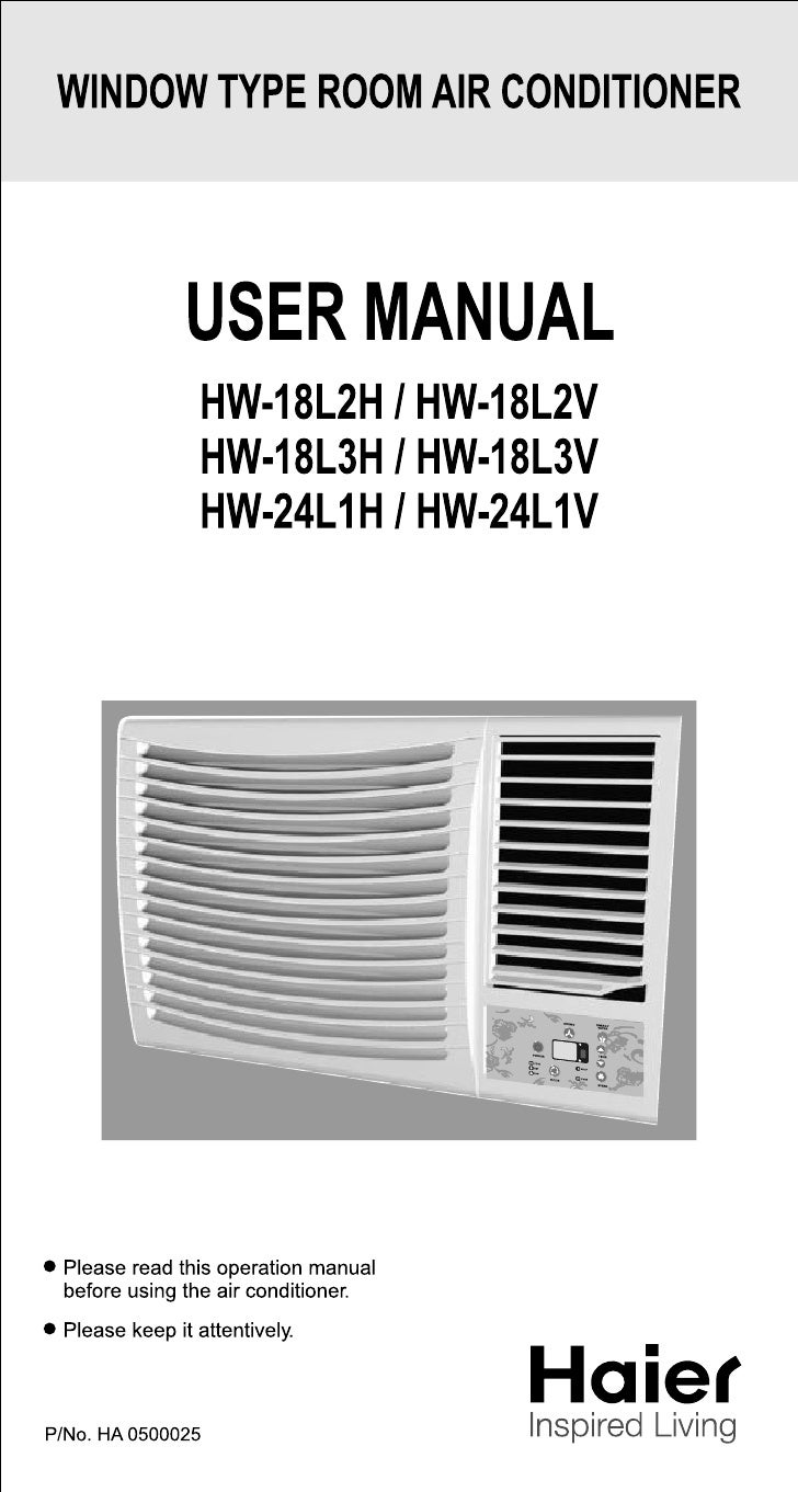 Window Type Room Air Conditioner