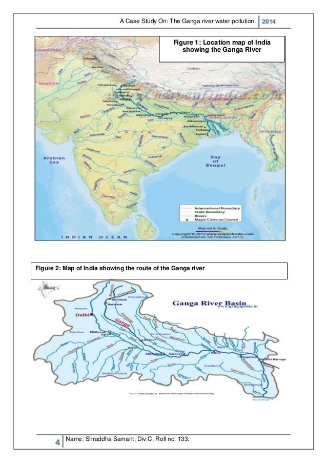 Case study on: Ganga water pollution