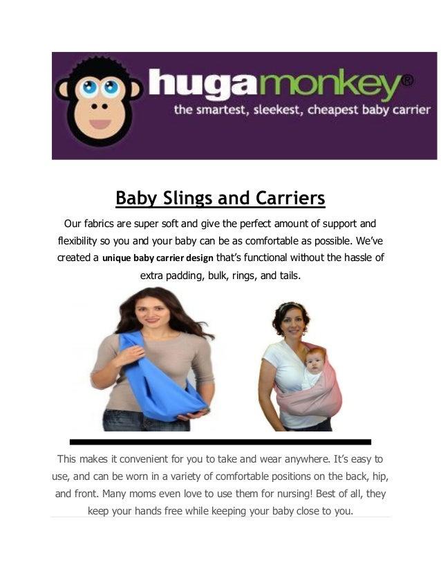 Huga Monkey Baby Pet Slings Company