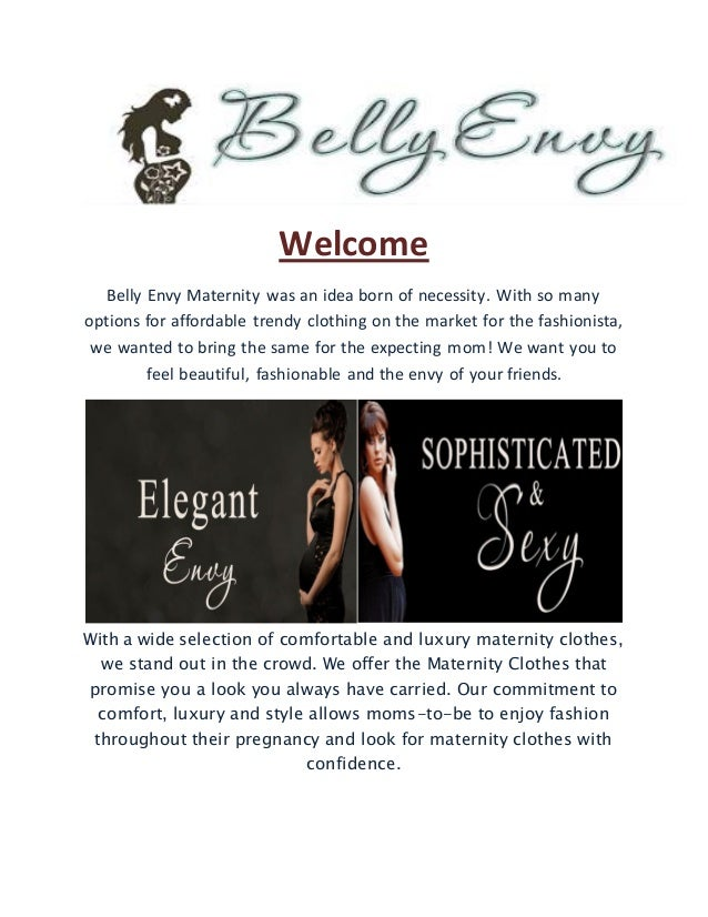 Buy Discount Maternity Clothes Online From Belly Envy Maternity