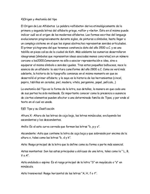 Tipografia origen y anatomia del tipo for Significado de la palabra beta