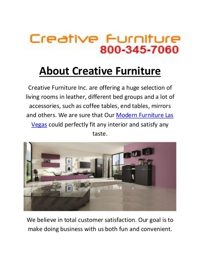 Creative Modern Furniture Store In Las Vegas