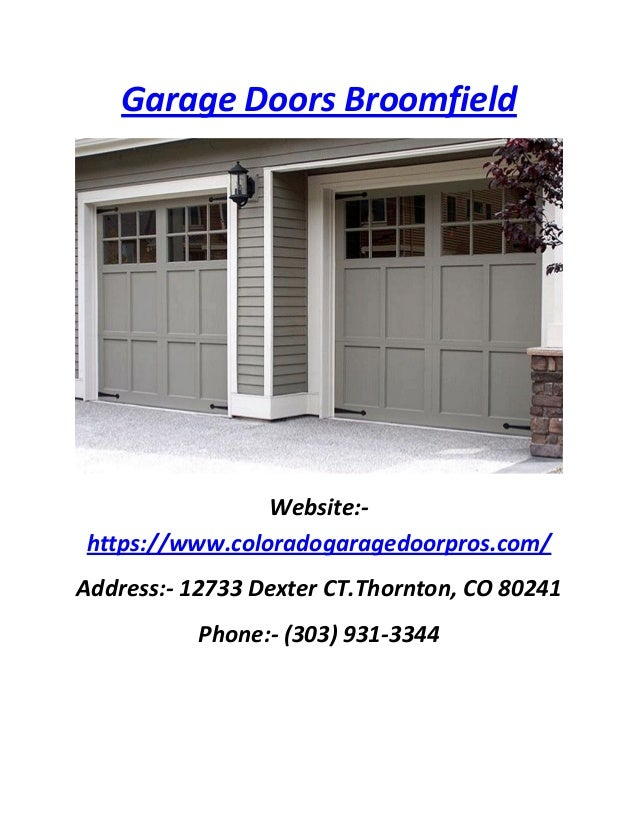 Garage door repair denver co repair and service for for Garage door service fort collins