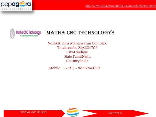 Matha Cnc Technologys Cnc Cutting Machine Cnc Rotary