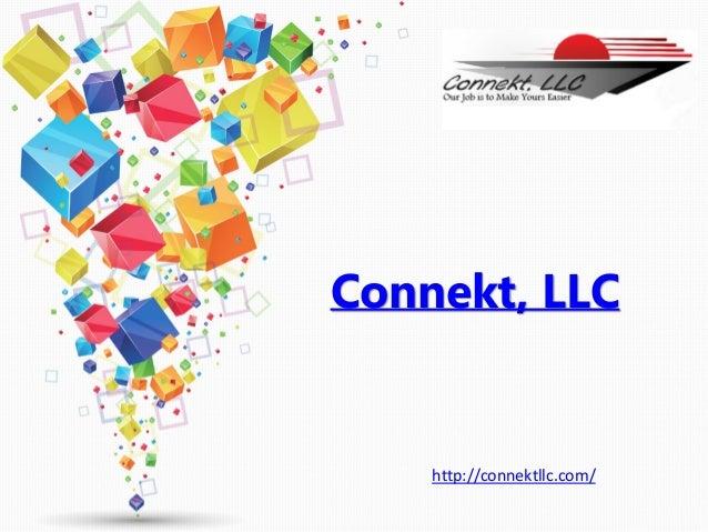 Connekt, LLC http://connektllc.com/