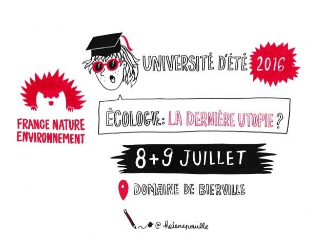 Université d'été de France Nature Environnement