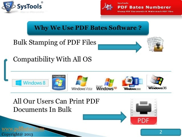 Bates Numbering Software - electronic document numbering ...