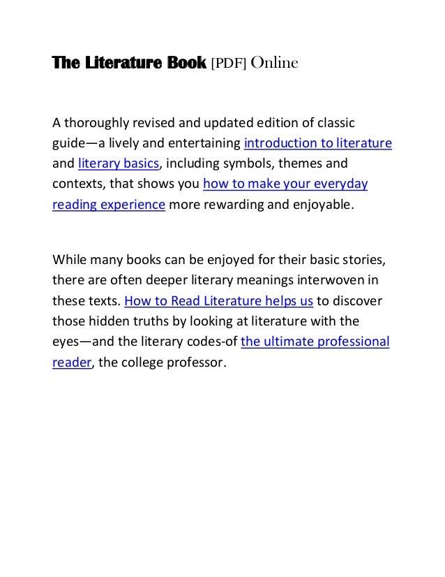 Read Pdf The Literature Book