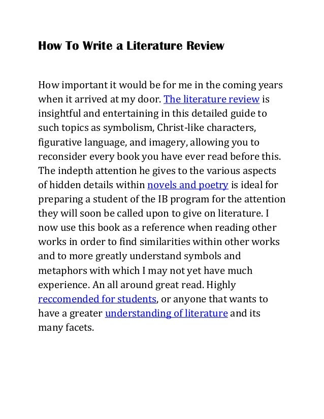 introduction of literature review nursing essay We will write a custom essay sample on critiquing nursing research specifically for you for only $1638 $139/page  introductionthe framework indicates the introduction should clearly identify the problem, include a rationale and state any limitations  framework indicates the literature review should be current, identify the underlying.