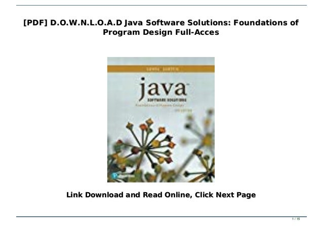 22+ Java Software Solutions 9Th Edition Exercise Answers Pics