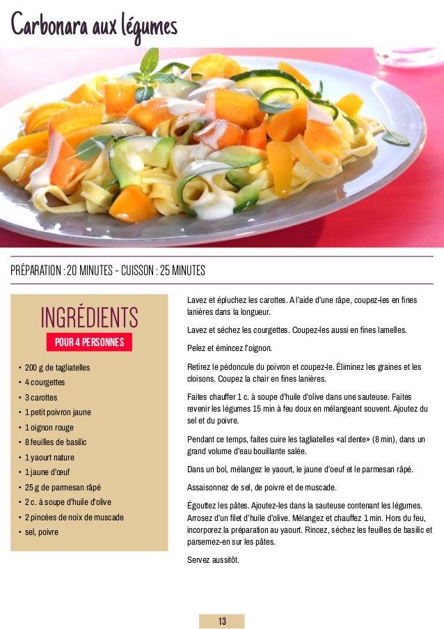 Carbonaraauxlégumes Lavez et épluchez les carottes. A l'aide d'une râpe, coupez-les en fines lanières dans la longueur. La...