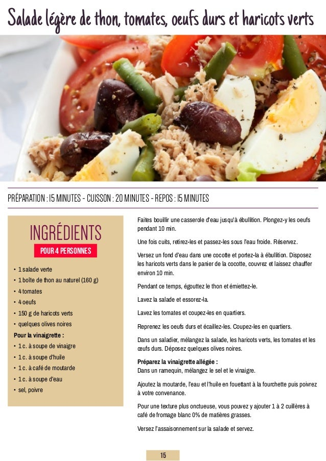 Saladelégèredethon,tomates,oeufsdursetharicotsverts Faites bouillir une casserole d'eau jusqu'à ébullition. Plongez-y les ...