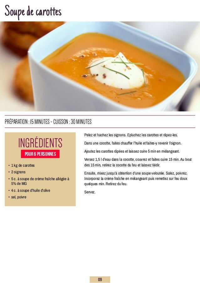 Soupedecarottes Pelez et hachez les oignons. Epluchez les carottes et râpez-les. Dans une cocotte, faites chauffer l'huile...