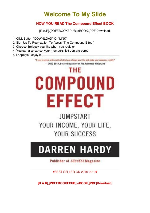 The Compound Effect PDF Free Download