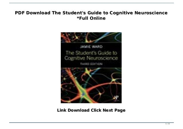 The Student'S Guide To Cognitive Neuroscience - Livro - WOOK