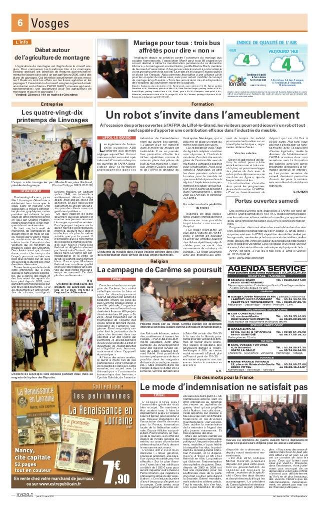 6          Vosges    L'info                                                                                               ...