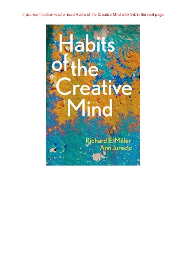 Habits Of Mind Poster Pdf Download