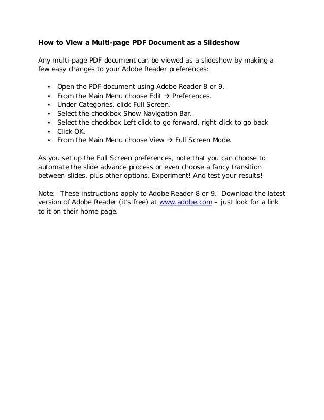 Pdf how-to-view-pdf-as-slideshow
