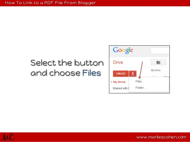how to create a link for pdf file